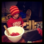 Will, my awesome little helper.