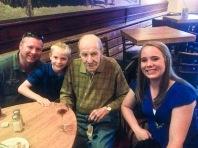 Dinner with Grandpa