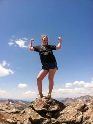 Top of Buffalo Mountain!
